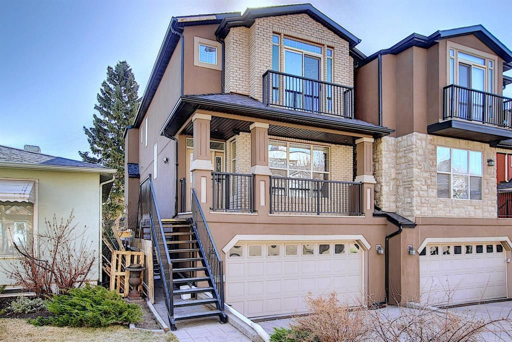 Main Photo: 1414 CENTRE A Street NE in Calgary: Crescent Heights Semi Detached for sale : MLS®# A1095633
