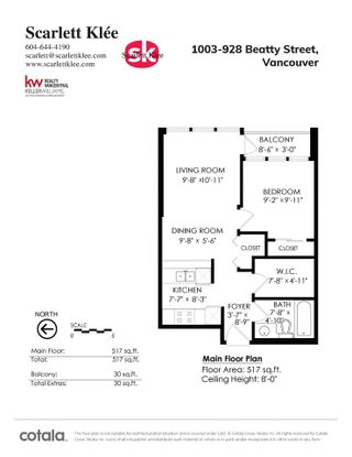 Photo 22: 1003 928 BEATTY STREET in Vancouver: Yaletown Condo for sale (Vancouver West)  : MLS®# R2512393