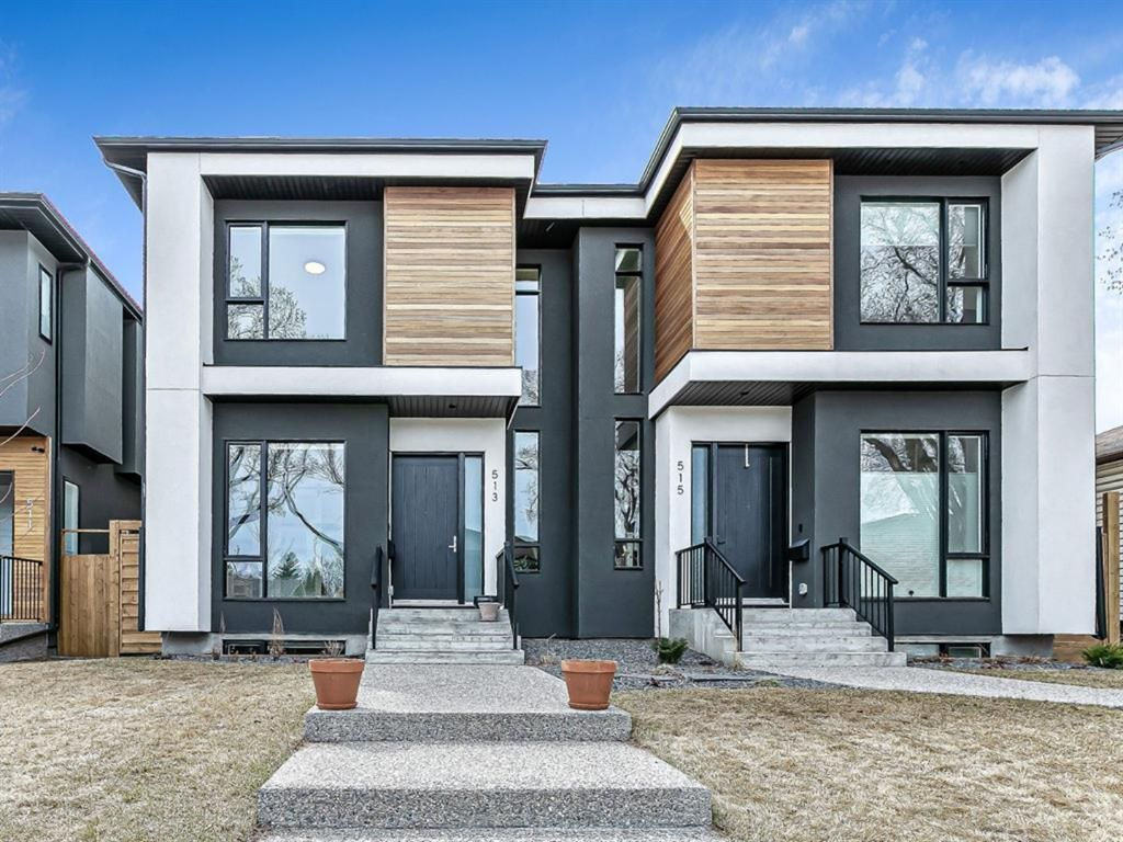 Main Photo: 513 28 Avenue NW in Calgary: Mount Pleasant Semi Detached for sale : MLS®# A1101548
