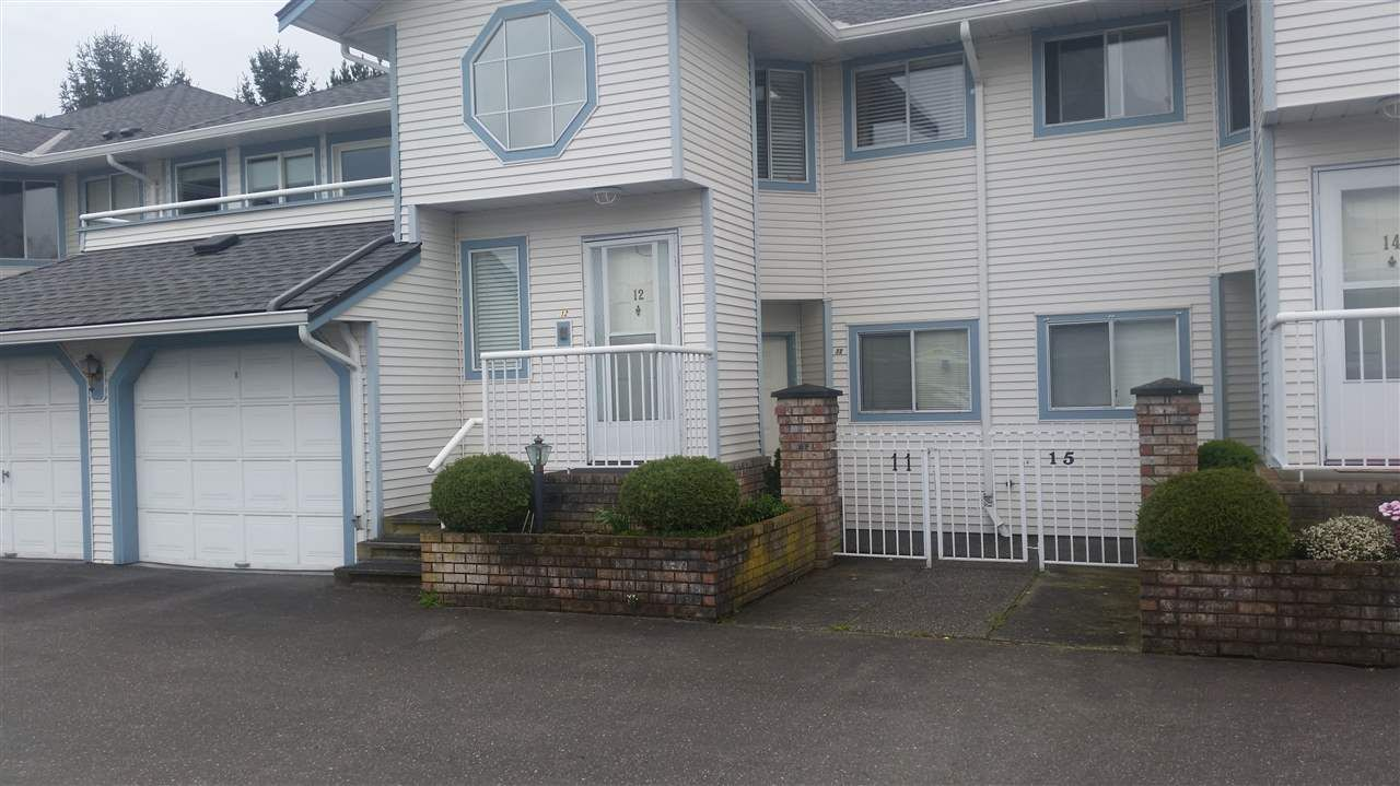 """Main Photo: 11 19797 64 Avenue in Langley: Willoughby Heights Townhouse for sale in """"CHERITON PARK"""" : MLS®# R2055573"""