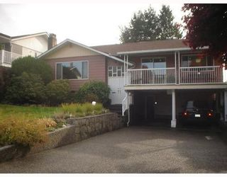 Photo 1: 5418 MEADEDALE Drive in Burnaby North: Parkcrest Home for sale ()  : MLS®# V795008