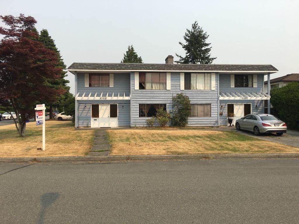 Main Photo: 10531 - 10551 ANAHIM Drive in Richmond: McNair Duplex for sale : MLS®# R2194316