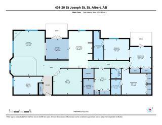 Photo 45: 401 20 St Joseph Street: St. Albert Condo for sale : MLS®# E4259803