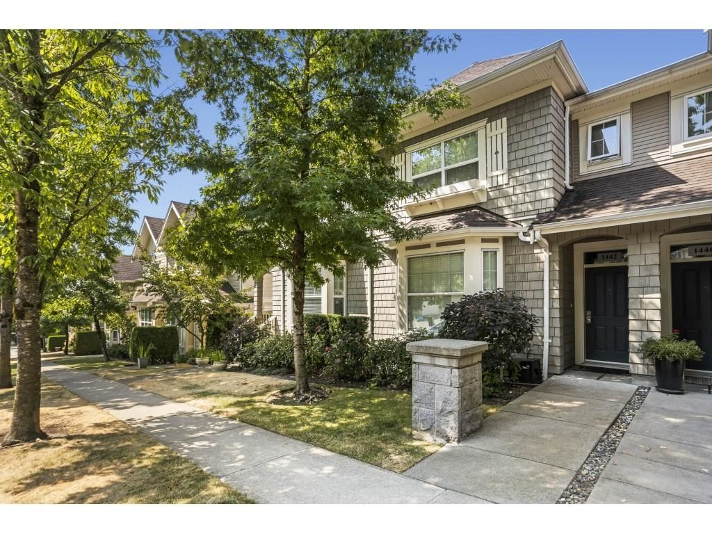 """Main Photo: 1442 MARGUERITE Street in Coquitlam: Burke Mountain Townhouse for sale in """"BELMONT"""" : MLS®# R2608706"""