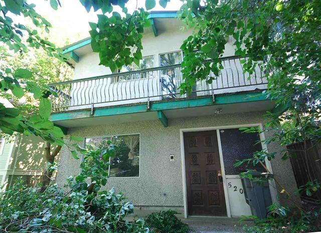 Main Photo: 520 E 30TH AV in VANCOUVER: Fraser VE House for sale (Vancouver East)
