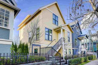 Main Photo: 435 VERNON DRIVE in Vancouver: Mount Pleasant VE Townhouse for sale (Vancouver East)  : MLS®# R2225005