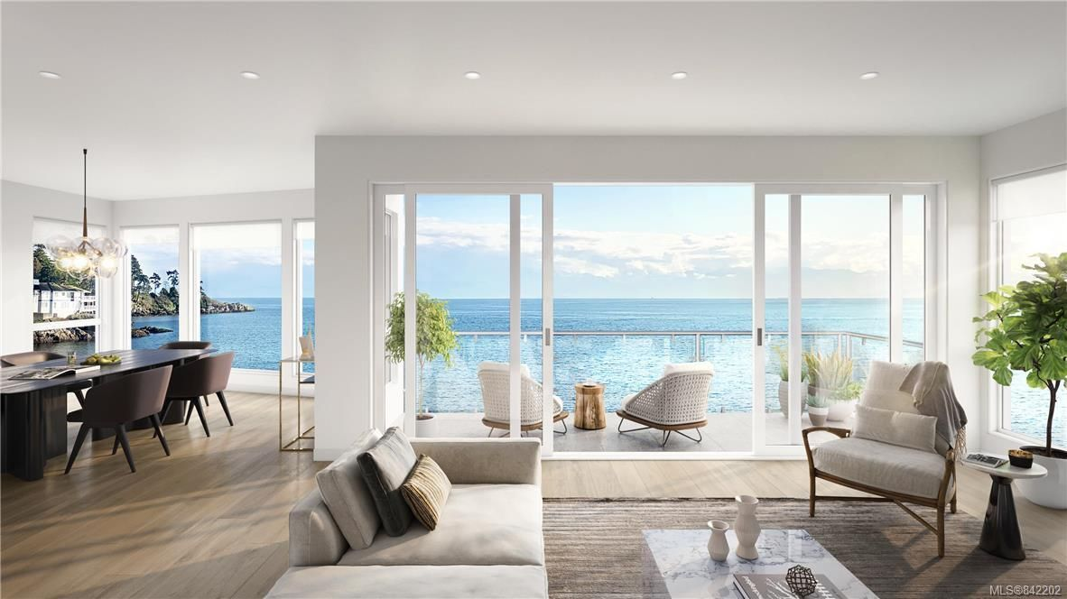 You choose what design and size of the home that surrounds you while you enjoy your new outlook. Anticipated views from the living and dinning rooms of the proposed home rendered.