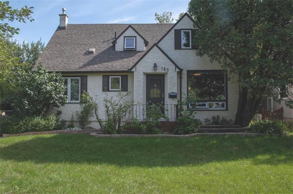 Main Photo: 383 Overdale Street in Winnipeg: St James Residential for sale (5E)  : MLS®# 202122717