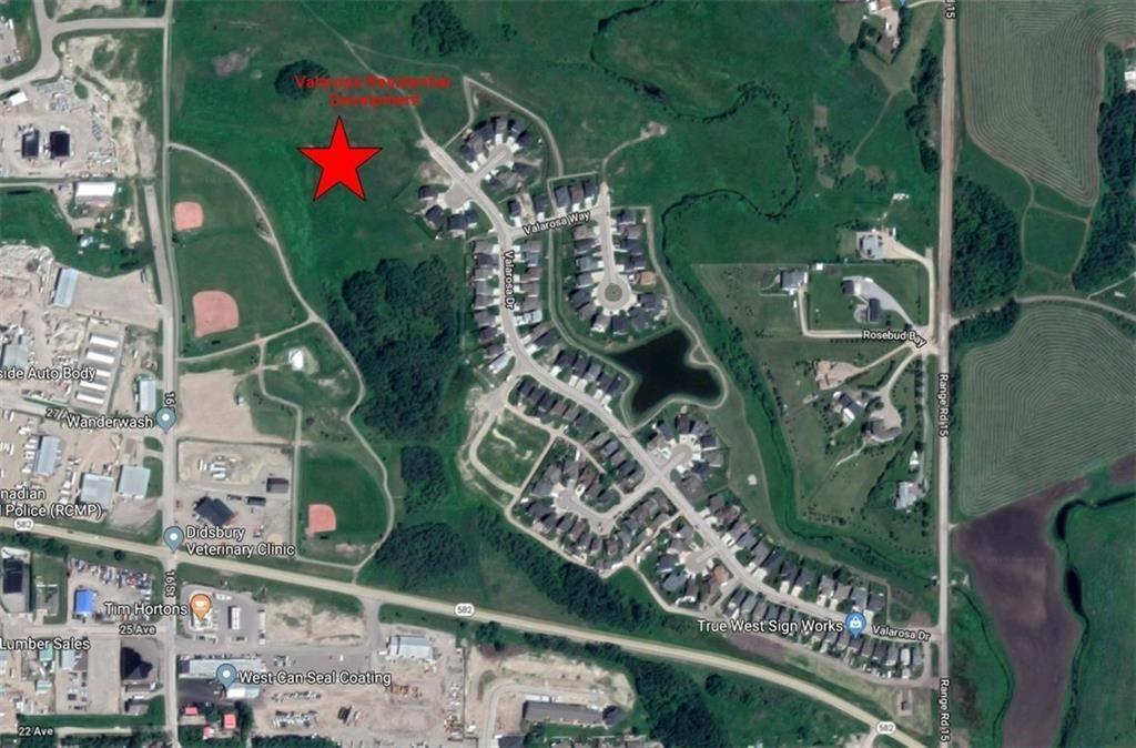 Main Photo: 1 Valarosa: Didsbury Land for sale : MLS®# A1108719