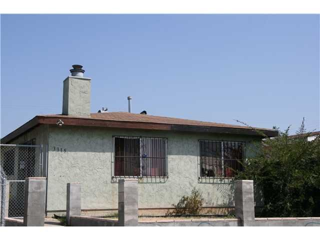 Main Photo: CITY HEIGHTS Property for sale: 3315-3317 Central Avenue in San Diego