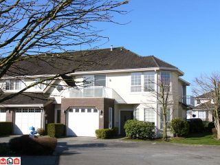 "Photo 1: 47 31450 SPUR Avenue in Abbotsford: Abbotsford West Townhouse for sale in ""LAKEPOINTE VILLAS"" : MLS®# F1207113"
