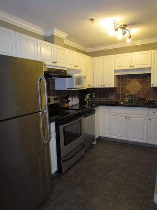 """Photo 3: #206 33688 KING RD in ABBOTSFORD: Poplar Condo for rent in """"COLLEGE PARK PLACE"""" (Abbotsford)"""
