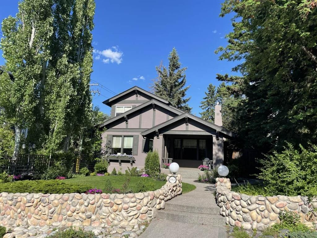 Main Photo: 1912 11 Street SW in Calgary: Upper Mount Royal Detached for sale : MLS®# A1123750