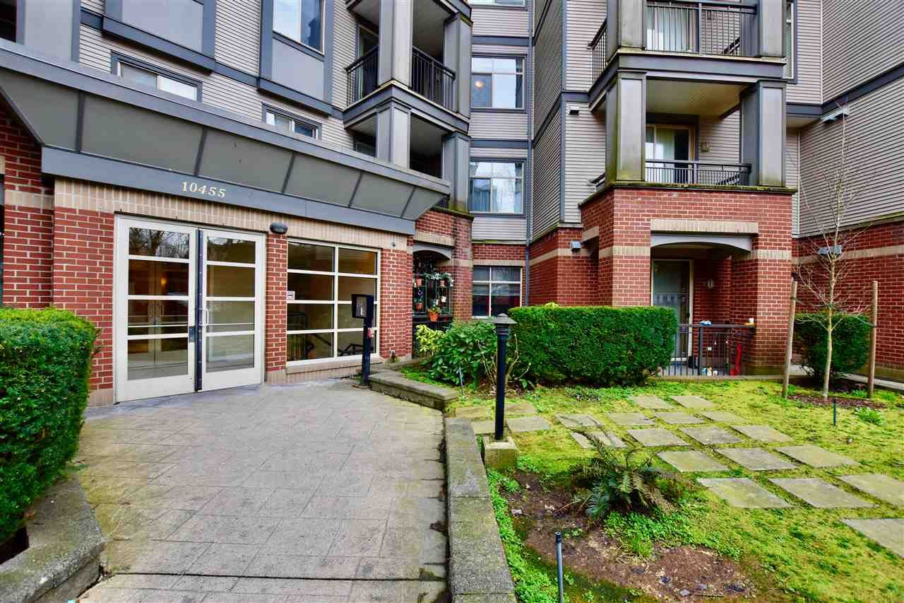 """Main Photo: 213 10455 UNIVERSITY Drive in Surrey: Whalley Condo for sale in """"D'Cor"""" (North Surrey)  : MLS®# R2443325"""