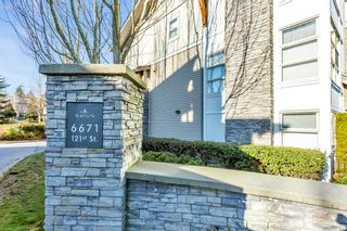 "Photo 9: 115 6671 121 Street in Surrey: West Newton Townhouse for sale in ""SALUS"" : MLS®# R2531580"