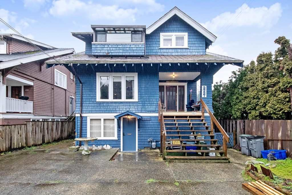 Main Photo: 2327 COLLINGWOOD Street in Vancouver: Kitsilano House for sale (Vancouver West)  : MLS®# R2433577