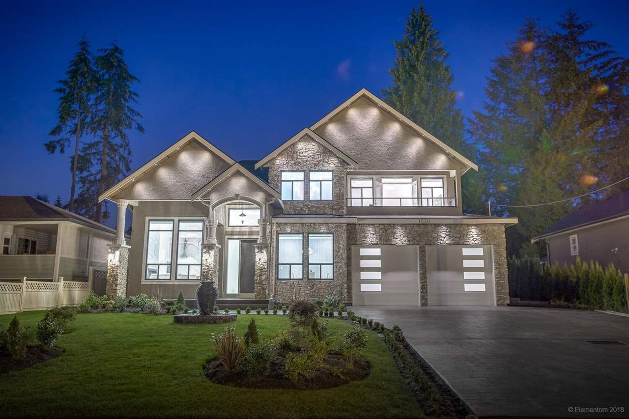 Main Photo: 1570 HARBOUR Drive in Coquitlam: Harbour Place House for sale : MLS®# R2432711