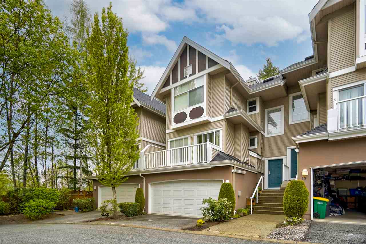 "Main Photo: 20 7488 MULBERRY Place in Burnaby: The Crest Townhouse for sale in ""SIERRA RIDGE"" (Burnaby East)  : MLS®# R2571433"