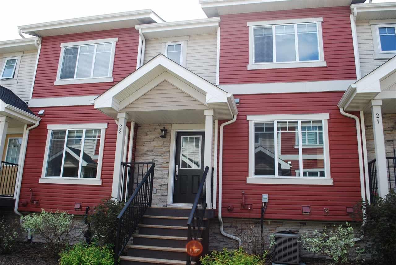 Main Photo: 22 5134 MULLEN Road in Edmonton: Zone 14 Townhouse for sale : MLS®# E4202348
