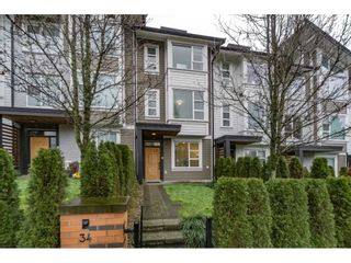 """Photo 1: 34 1299 COAST MERIDIAN Road in Coquitlam: Burke Mountain Townhouse for sale in """"BREEZE RESIDENCES"""" : MLS®# R2234626"""