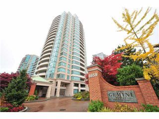 """Photo 1: 1502 6659 SOUTHOAKS Crescent in Burnaby: Highgate Condo for sale in """"GEMINI II"""" (Burnaby South)  : MLS®# V1099936"""