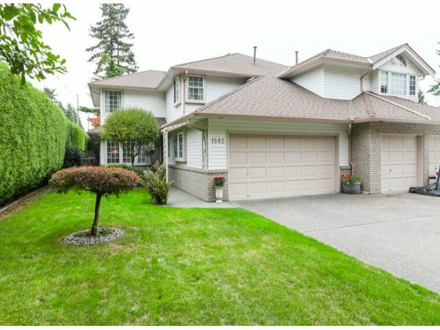 Main Photo: 1592 131ST ST in SURREY: Crescent Bch Ocean Pk. Condo for sale (South Surrey White Rock)  : MLS®# F1321820