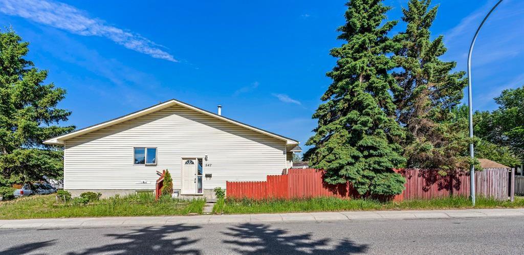 Main Photo: 547 Whiteland Drive NE in Calgary: Whitehorn Semi Detached for sale : MLS®# A1124147