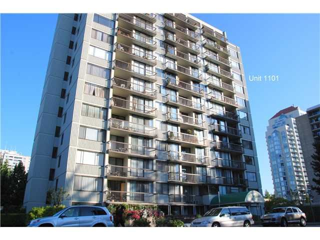 Main Photo: 1101 620 SEVENTH Avenue in New Westminster: Uptown NW Condo for sale : MLS®# V1021923