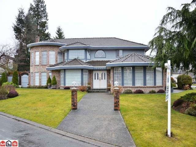 "Main Photo: 15690 93A Avenue in Surrey: Fleetwood Tynehead House for sale in ""BEL-AIR ESTATES"" : MLS®# F1204175"