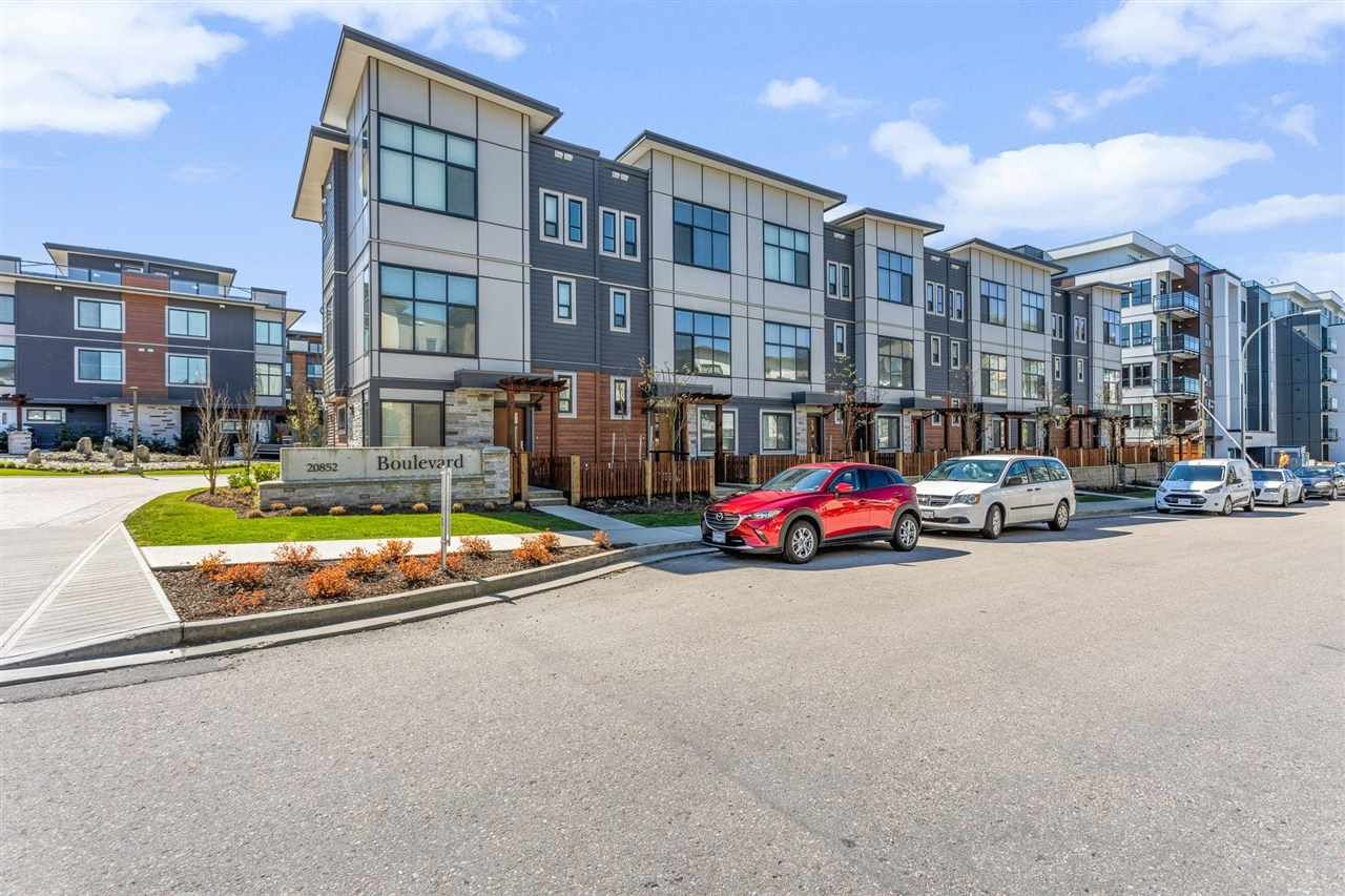 """Main Photo: 2 20852 78B Avenue in Langley: Willoughby Heights Townhouse for sale in """"BOULEVARD"""" : MLS®# R2587670"""