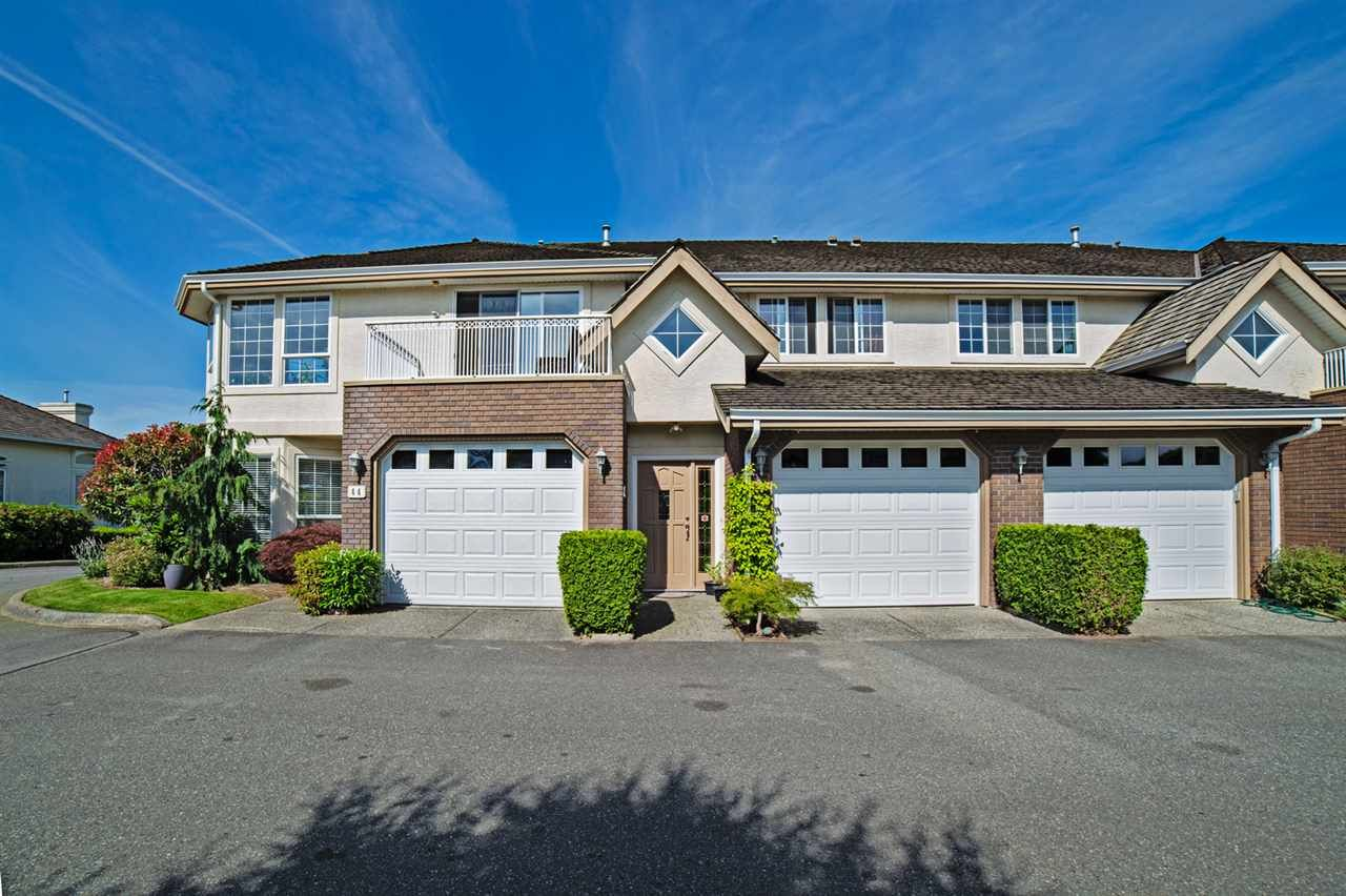 """Main Photo: 45 31450 SPUR Avenue in Abbotsford: Abbotsford West Townhouse for sale in """"Lakepointe Villas"""" : MLS®# R2075766"""