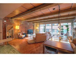 Photo 3: # 301 1155 MAINLAND ST in Vancouver: Yaletown Condo for sale (Vancouver West)  : MLS®# V1043031