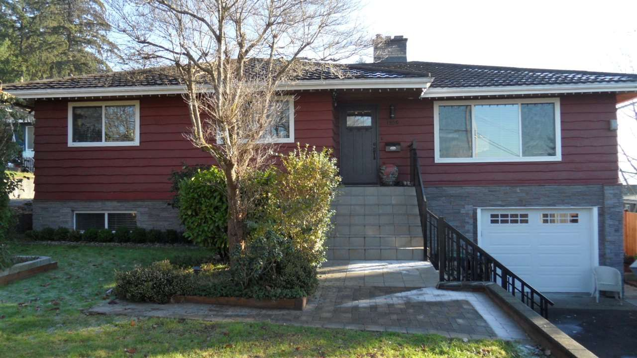Main Photo: 1956 HILLSIDE Avenue in Coquitlam: Cape Horn House for sale : MLS®# R2018124