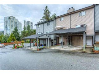 Photo 1: 263 BALMORAL Place in Port Moody: North Shore Pt Moody Townhouse for sale : MLS®# V1085063