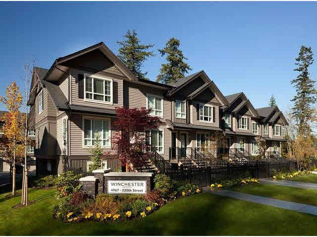 """Main Photo: 20 4967 220TH Street in Langley: Murrayville Townhouse for sale in """"WINCHESTER ESTATES"""" : MLS®# F1433815"""