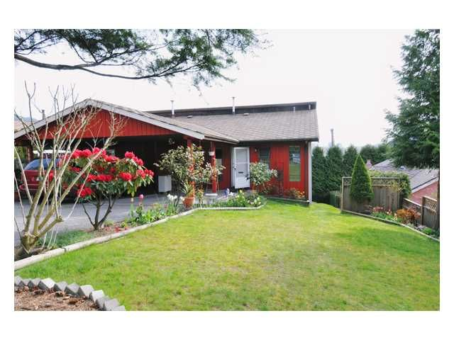 Main Photo: 1805 VIEW Street in Port Moody: Port Moody Centre 1/2 Duplex for sale : MLS®# V829032