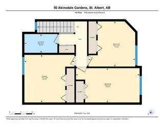 Photo 37: 50 AKINSDALE Gardens: St. Albert Townhouse for sale : MLS®# E4227730
