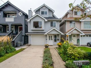 Photo 2: 1939 GARDEN Drive in Vancouver: Grandview VE House for sale (Vancouver East)  : MLS®# R2004039