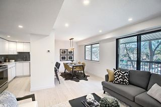 Photo 1: 109 2200 Woodview Drive SW in Calgary: Woodlands Row/Townhouse for sale : MLS®# A1109699
