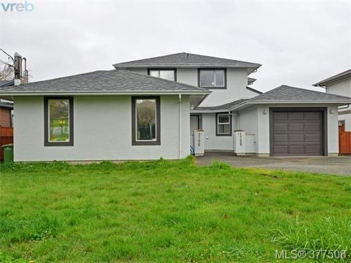Main Photo: B 1706 Kings Rd in VICTORIA: Vi Jubilee Half Duplex for sale (Victoria)  : MLS®# 757946