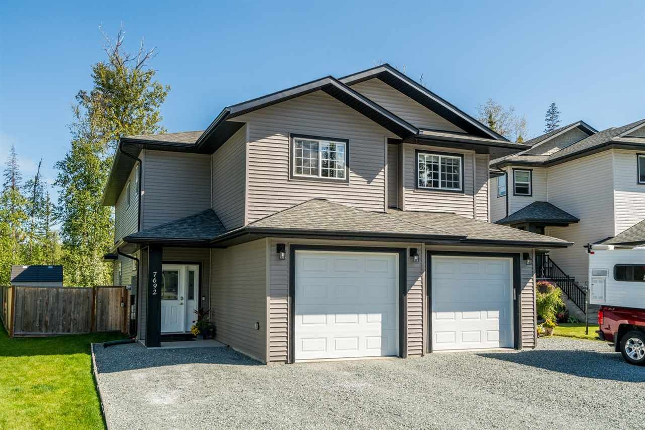 Main Photo: 7692 CREEKSIDE Way in Prince George: Lower College 1/2 Duplex for sale (PG City South (Zone 74))  : MLS®# R2401751
