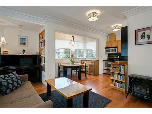 Main Photo: 3550 OAK STREET in : Cambie Townhouse for sale : MLS®# V1044504