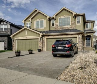 Main Photo: 137 CRANLEIGH Place SE in Calgary: Cranston Semi Detached for sale : MLS®# A1145992