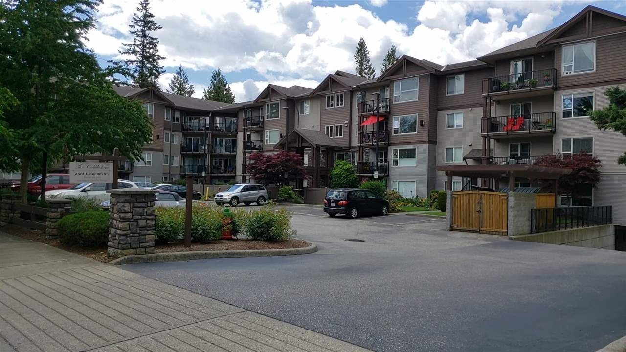 Top Floor Upper Condo.  68 units. Quiet neighbourhood - not on busy main road. 2 Parking Stalls #22 & 23. Steps to park, 7 Oaks Mall, Save On Foods, Library, Schools & Mill Lake.  Close access to South Fraser Way & 7 minutes to Hwy #1