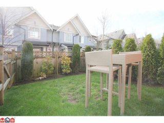 "Photo 10: 25 6635 192ND Street in Surrey: Clayton Townhouse for sale in ""Leafside Lane"" (Cloverdale)  : MLS®# F1204688"