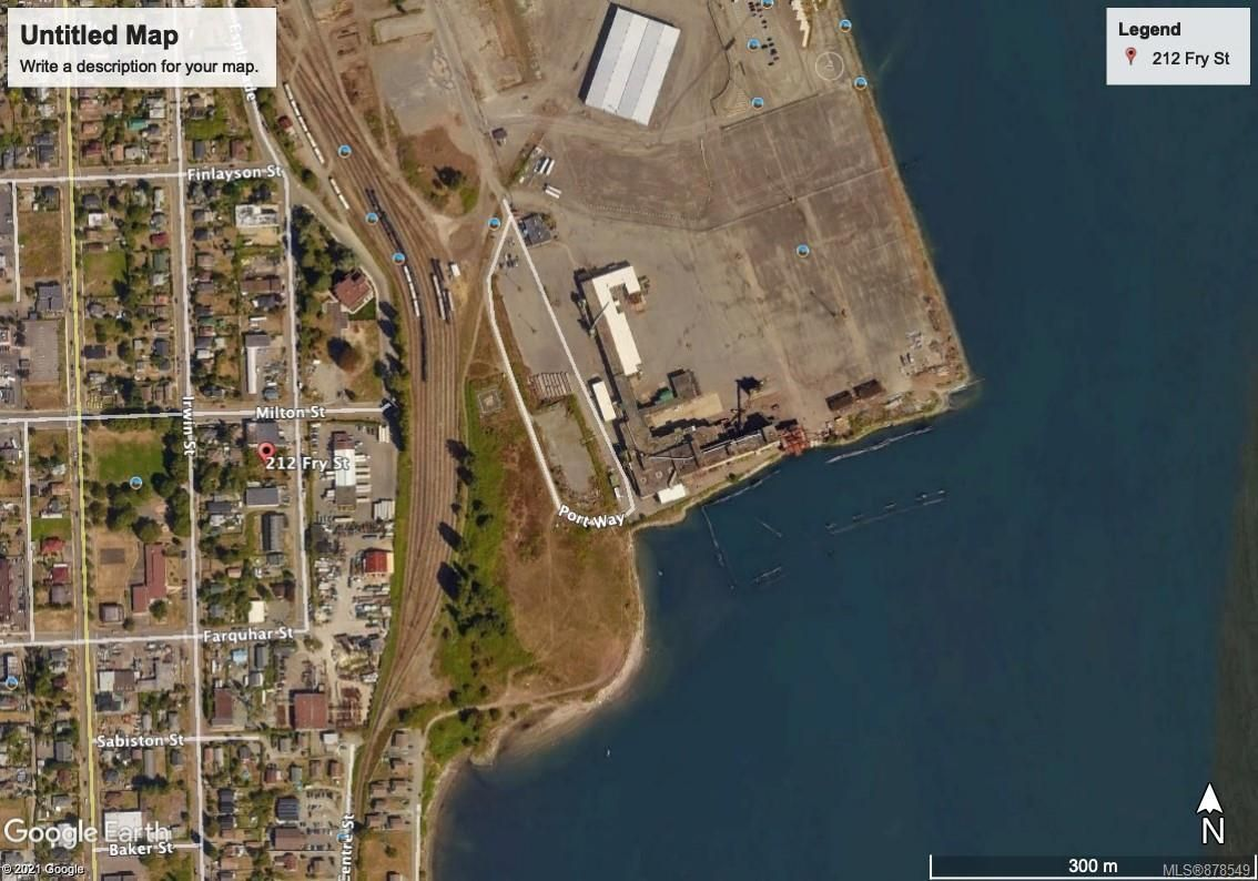 Main Photo: 212 & 218 Fry St in : Na Old City Industrial for sale (Nanaimo)  : MLS®# 878549