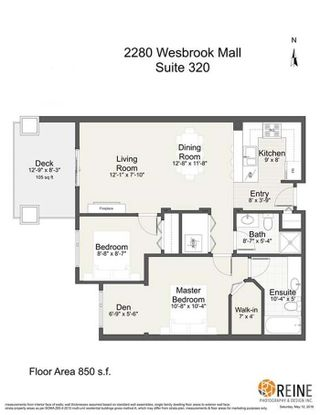 "Photo 20: 320 2280 WESBROOK Mall in Vancouver: University VW Condo for sale in ""KEATS HALL"" (Vancouver West)  : MLS®# R2269685"