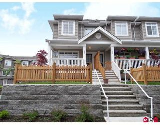 """Photo 1: 15 6852 193RD Street in Surrey: Clayton Townhouse for sale in """"Indigo"""" (Cloverdale)  : MLS®# F2817479"""