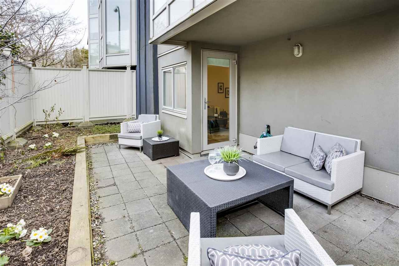 """Main Photo: 109 2238 ETON Street in Vancouver: Hastings Condo for sale in """"Eton Heights"""" (Vancouver East)  : MLS®# R2539306"""