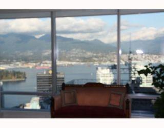 Photo 2: # 3803 1111 ALBERNI ST in Vancouver: Condo for sale : MLS®# V795212